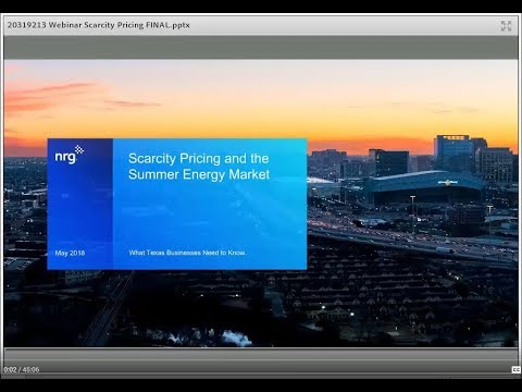 Scarcity Pricing and the Summer Energy Market