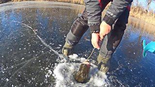 ЛУНКА оказалась слишком мала для ЭТОЙ РЫБЫ Рыбалка на ериках Волго Ахтубинской поймы