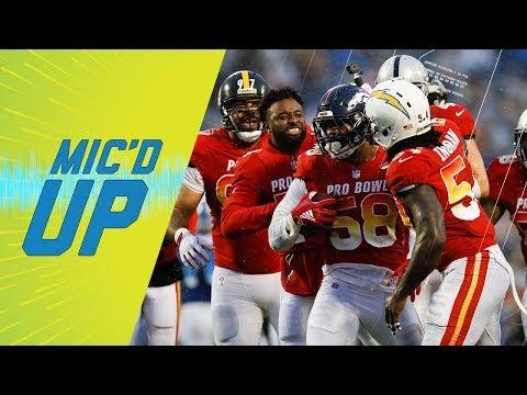 Best Mic'd Up Sounds of Pro Bowl, 2018 | Sound FX | NFL Films