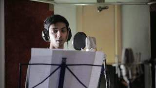 Anirudh making magic in the studio