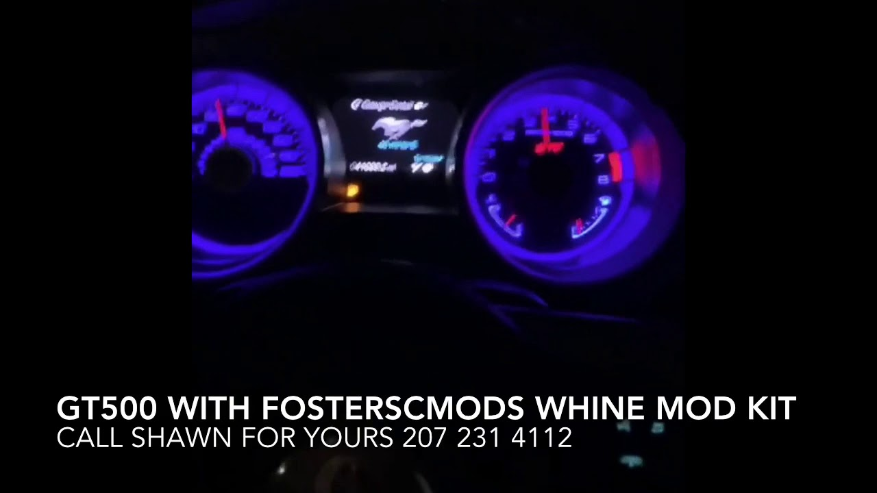 Supercharger Whine Gt500 With Foster Sc Mod