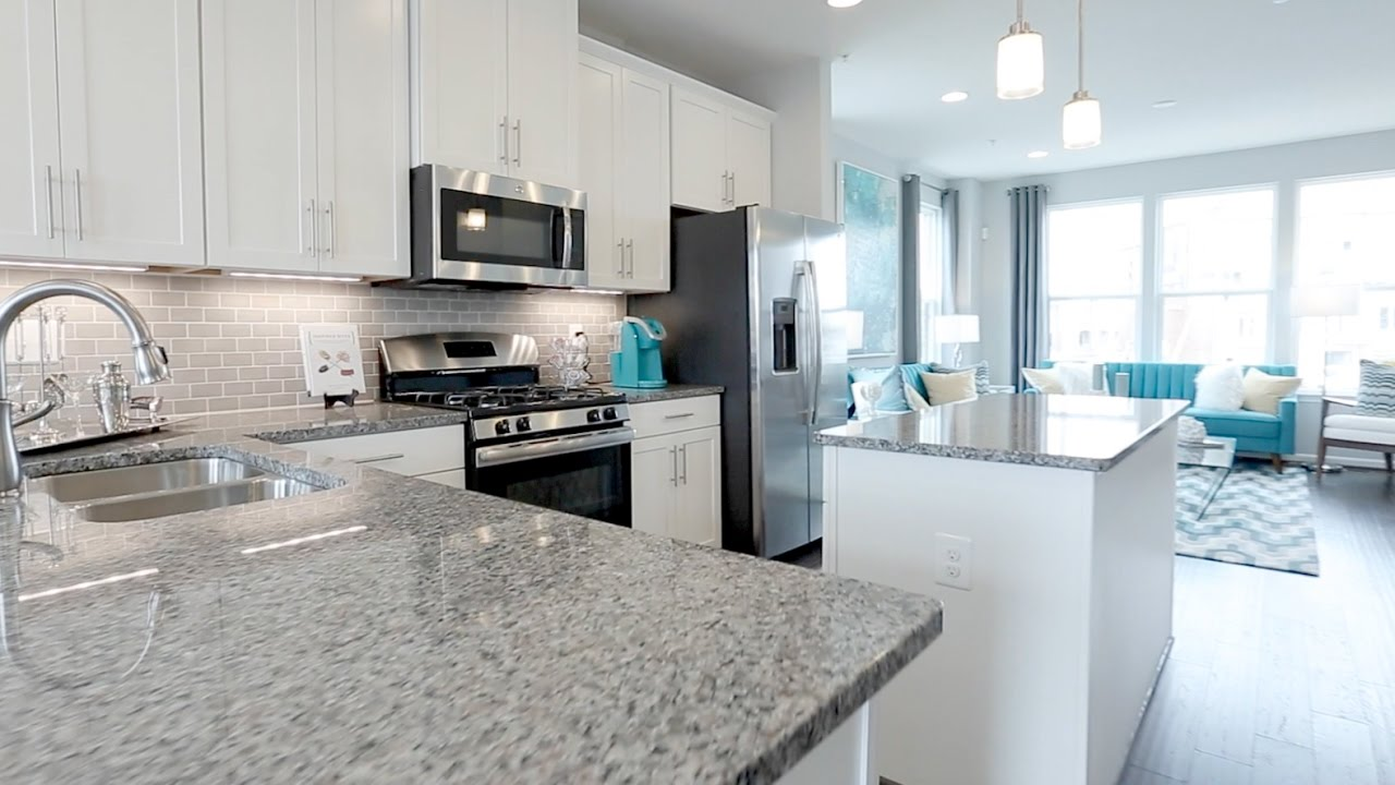 Ryan Homes Clarendon Model Tour - YouTube