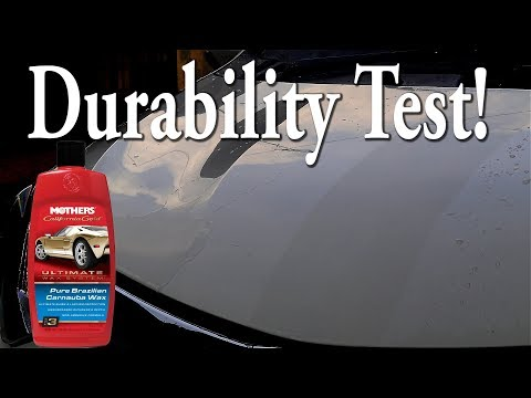 Car Wax Test : Mothers Pure Brazillian Carnauba Wax
