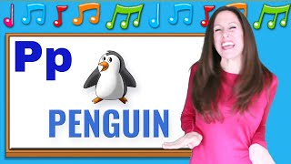Phonics songs for children | Letter Sounds P, Q, R | Signing for Babies, ASL | Patty Shukla