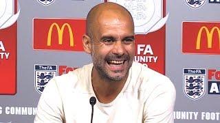Chelsea 0-2 Manchester City -  Pep Guardiola Post Match Press Conference - Community Shield