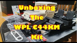 WPL C44 KM Kit Unboxing. Wood And Metal?? WTF??? It's A BEAUTY