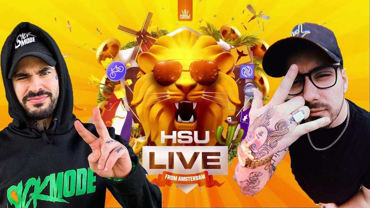 Sickmode & Rooler - LIVE + PODCAST (HSU LIVE)