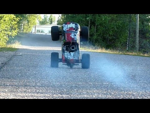 HPI Savage X 4.6 - Nitro Wheelies (2013)