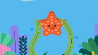 Морские животные. Животные которые живут на дне океана. Мультфильм для детей