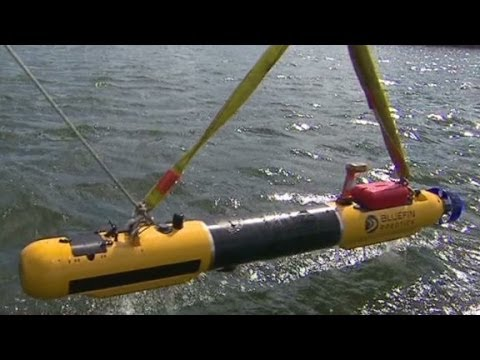 See how the Bluefin-21 AUV works underwater