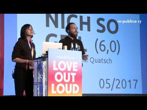 re:publica 2017 – State of the Open on YouTube