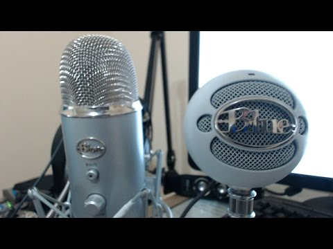 Blue Yeti Vs Blue Snow Ball [Audio Test]
