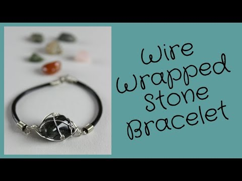 DIY Wire Wrapped Stone Bracelet with What's Up Montreal