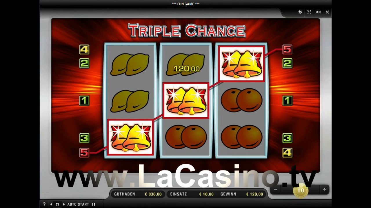 Kostenlos Triple Chance Spielen