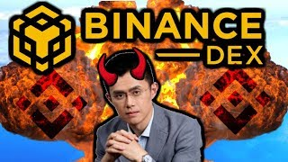 Binance Dex. A Centralized Honeypot. CZ Wants Your 💲💲💲 This Is Not A DEX!
