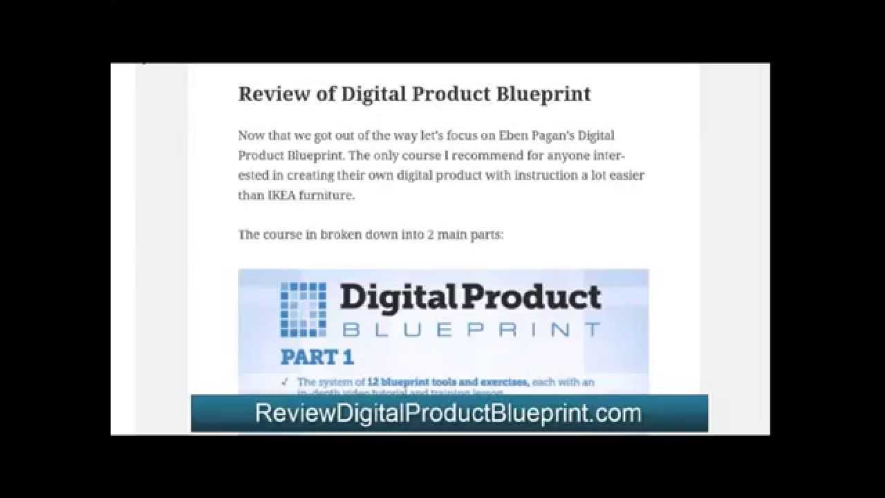Digital product blueprint review youtube digital product blueprint review malvernweather Images