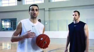 Уроки баскетбола от Ману Джинобили