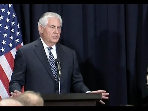 Tillerson Hints At Possibility Of Direct Talks With Iran, Full Saudi News Conference
