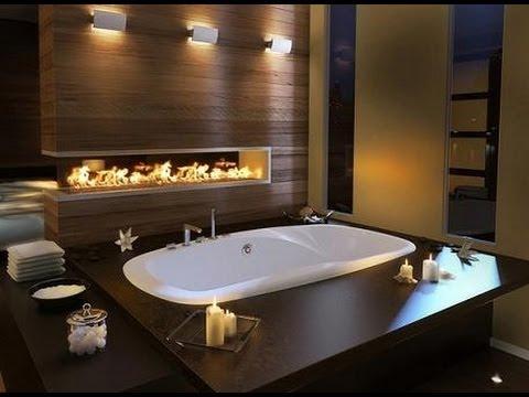 шикарная ванная комната фото