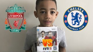 FIFA 11 Wii Gameplay #1 Liverpool Vs Chelsea