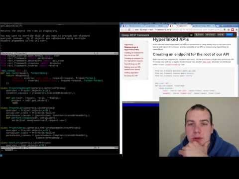Django REST API Tutorial Relationships & Hyperlinks [5/7]