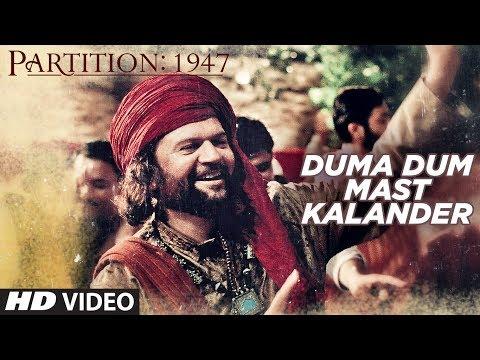 Duma Dum Mast Kalander Video Song   Partition 1947   Huma Qureshi, Om Puri