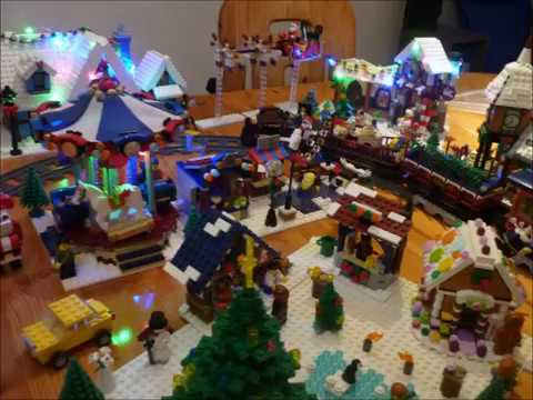 Lego Weihnachtsmarkt.Lego Winterlandschaft Weihnachtsmarkt Winter Wonderworld