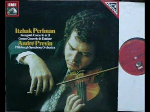 Itzhak Perlman plays Conus Movement 1