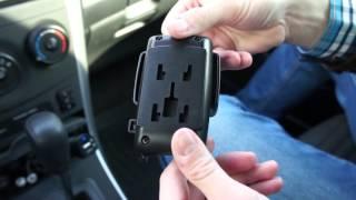 AvtoGSM.ru Автомобильный держатель AvtoGSM Car Holder 14(Аксессуар выполнен в универсальном черном цвете, благодаря чему он легко сможет влиться практически в..., 2015-10-16T13:49:16.000Z)