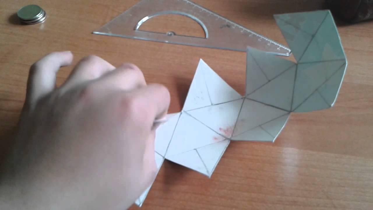 Поделки из геометрических фигур объемные своими руками фото 181