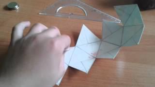 видео Как сделать икосаэдр из бумаги Мастер-класс