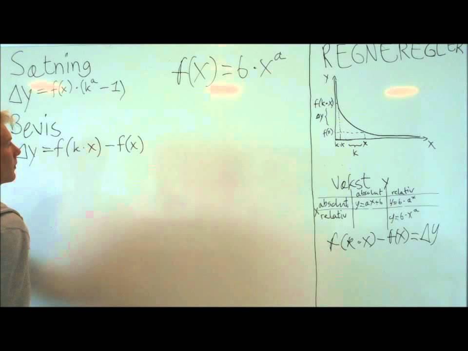 Video Matematik Potens vækst - YouTube
