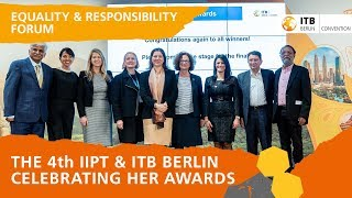 "4th ""Celebrating Her"" Awards International Institute for Peace through Tourism, India & ITB Berlin"
