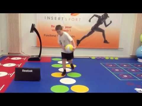 circuit training junior dans le studio  insertsport a geneve