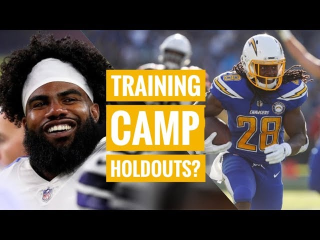 Will Zeke & Melvin Gordon Holdout?