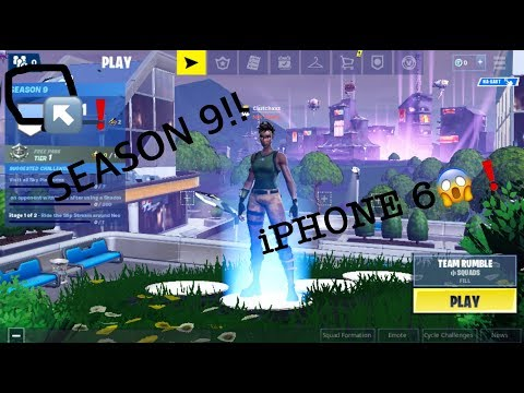 How to play fortnite on iphone 6 with proof