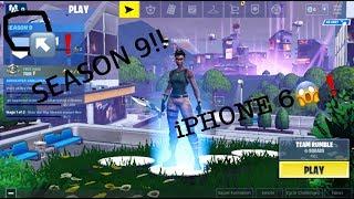 HOW TO GET FORTNITE ON IPHONE 6 (SEASON 9)**PROOF**