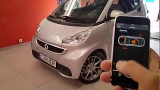 Smart Fortwo Car Alarm Pandora Mini www.carner.gr