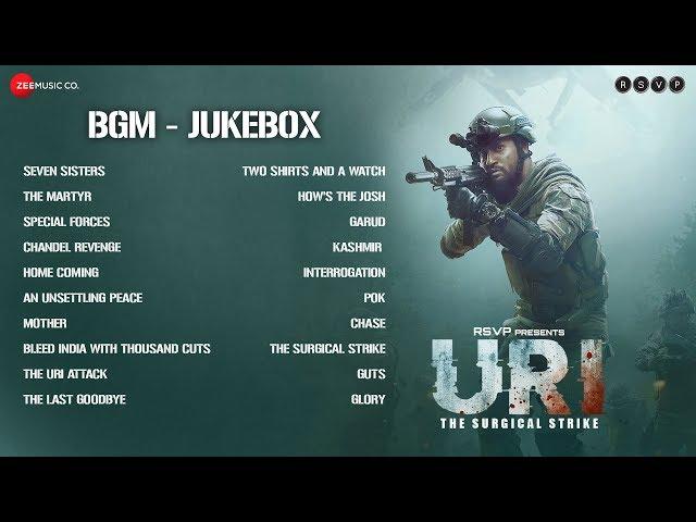 URI - The Surgical Strike | BGM Jukebox | Shashwat Sachdev | Vicky