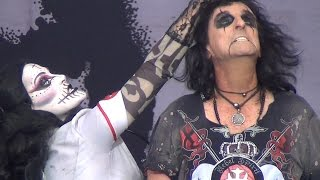 Alice Cooper - Ballad of Dwight Fry - The Guillotine - Graspop 2015