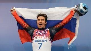 Саночник Альберт Демченко завоевал серебряную медаль!