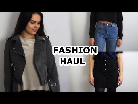 XXL TRY ON SHOPPING HAUL | Topshop, Zara, Mango, H&M uvm. | LOUISIANA