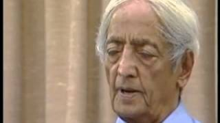 Jiddu Krishnamurti - What is a spiritual life?