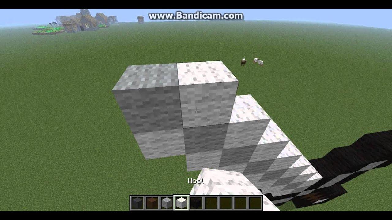 minecraft how to make a iron ingot statue