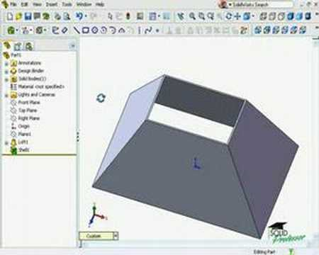 Using The Rip Feature Solidworks Sheet Metal Tutorial