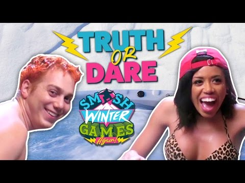 SEXY HOT TUB TRUTH OR DARE (Smosh Winter Games)