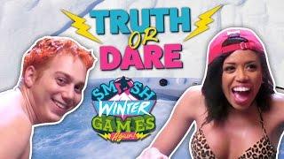 SEXY HOT TUB TRUTH OR DARE (Smosh Winter Games)
