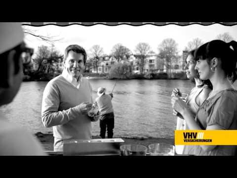 Dieter Bohlen ohne Haare im VHV TV-Spot