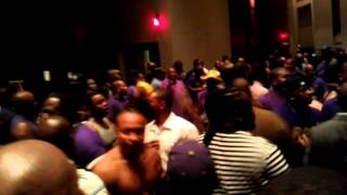 "Omega Psi Phi  ""Atomic Dog""   CENTENNIAL EDITION 1911-2011"