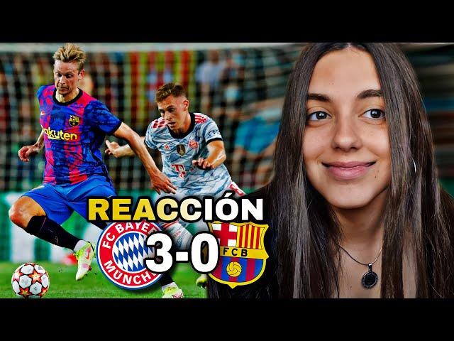 Reacción BARCELONA VS BAYERN MUNICH 0-3 *goleada y humillación*   CHAMPIONS LEAGUE
